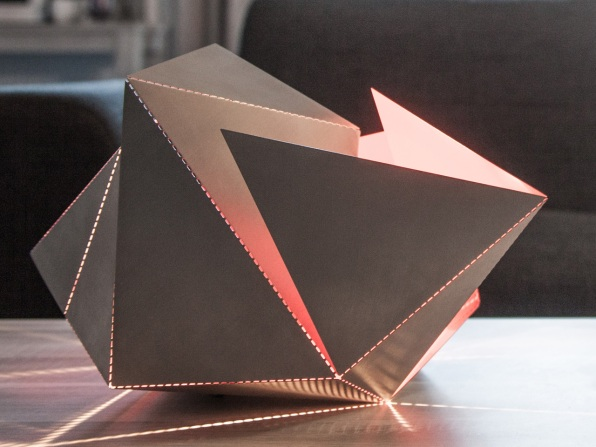 The Folding Lamp Makes Origami Out Of Light