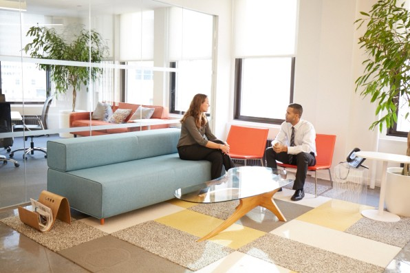 office lounge design. Photo: Courtesy Of DOAR Office Lounge Design