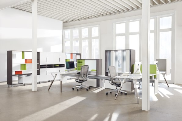 office configurations. Photo: Courtesy Of Teknion Office Configurations