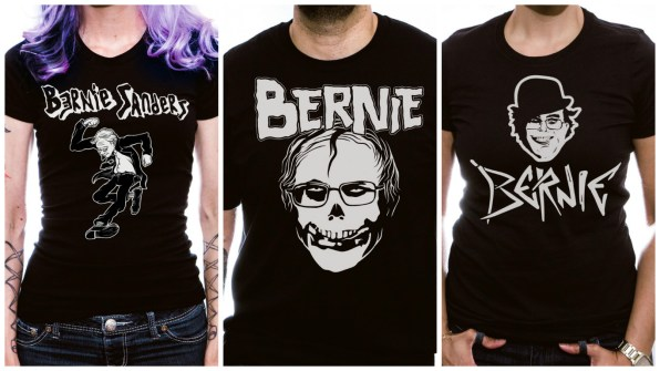 These Mash-Up Band T-Shirts Prove Bernie Sanders Is More ...