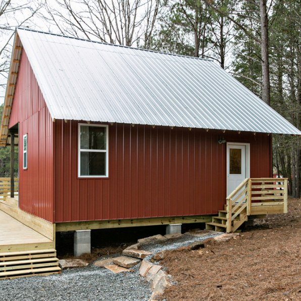 Partnering With A Commercial Developer Outside Atlanta, In A Tiny Community  Called Serenbe, They Built Two One Bedroom Houses, With Materials That Cost  Just ...