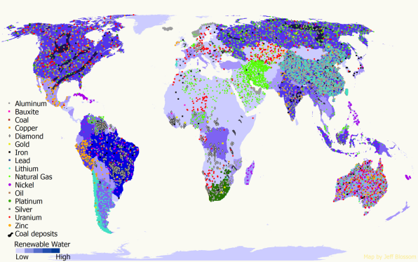 Maps That Will Change How You Think About Global Politics - Germany map natural resources