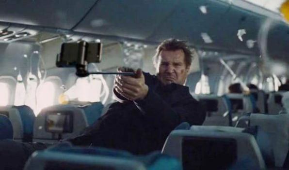 Guns In Your Favorite Movie Scenes Have Been Replaced By Selfie Sticks - Replacing guns in famous movie scenes with selfie sticks is way better than youd imagine