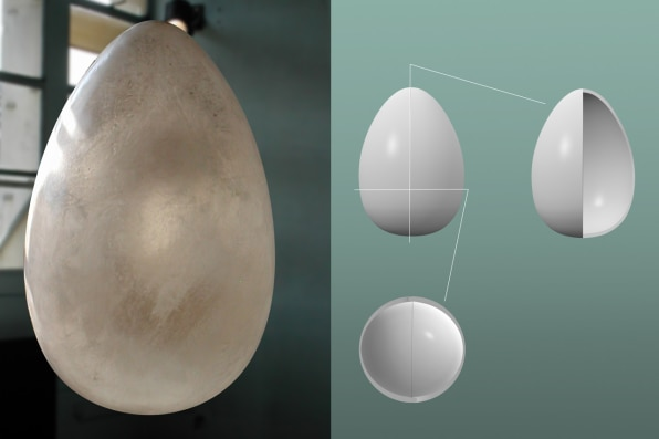 Instead Of A Coffin Be Buried In A Biodegradable Pod That Helps Grow - Capsula mundi burial pods