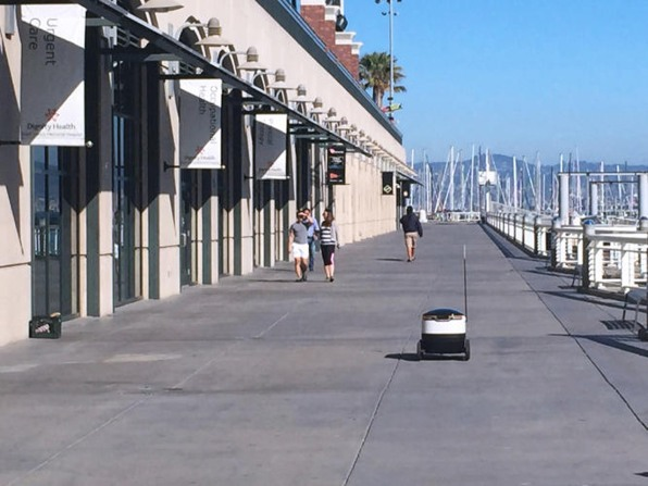 Robot Deliveries Have Already Begun In Europe And The U.K.