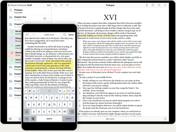 The best writing app ever just came to ios which is why scrivener coming to ios is a huge deal but bringing scrivener to ios wasnt easy fandeluxe Choice Image