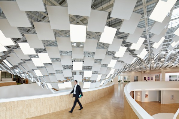 But For A Lighting Company Like Philips The Result Was Dreary And It An Acoustic Nightmare