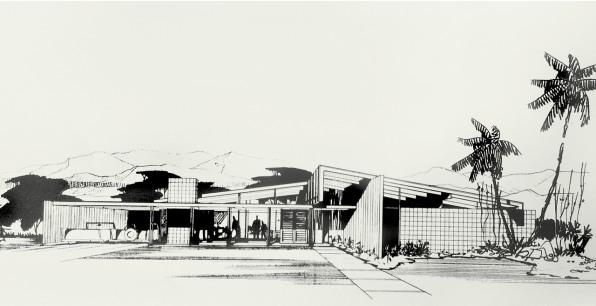 West-Prinzmetal Architectural Archives, Palm Desert, California.