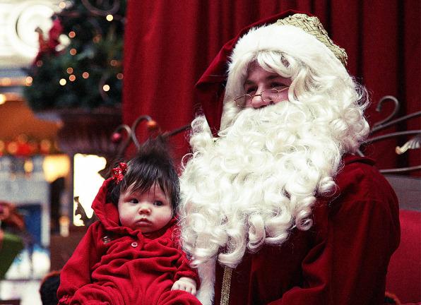 photo flickr user brian smith - Kids Santa