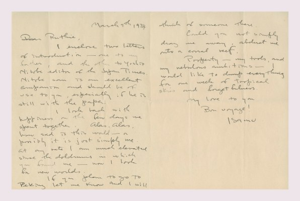 Handwritten Love Letters From Famous Designers