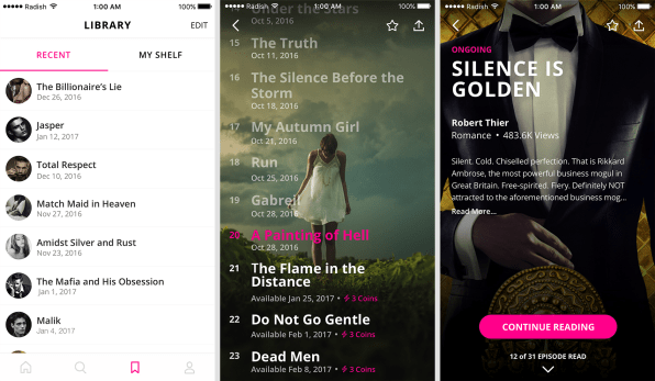 Get to know radish the serialized fiction app bringing novels to smar lee says this phenomenon hasnt taken off in the usyetbecause most e reading and writing has historically been done on the kindle or other e book fandeluxe Image collections