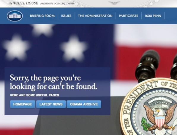 WhiteHousegov has scrubbed the site of pages dedicated to net neutral – Sites With Payment Plans Like Qvc