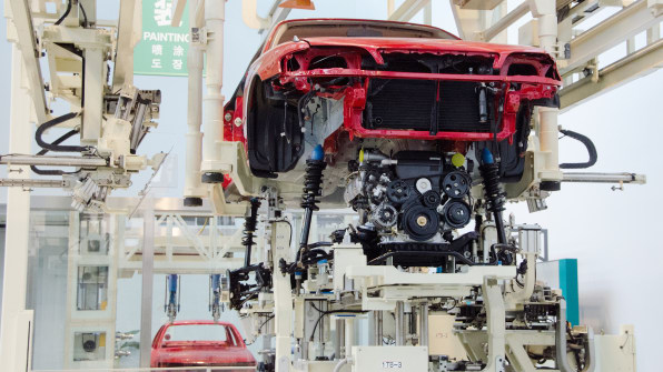At toyota the automation is human powered photo flickr user cotaro70s malvernweather Choice Image