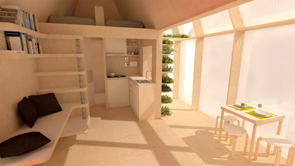 These Tiny Houses Are Designed To Give Refugees A Home In Your Backyar