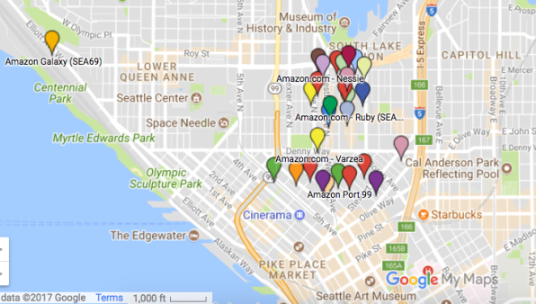 Worksheet. Amazons Quest For An HQ2 Underscores Seattle Growing Pains