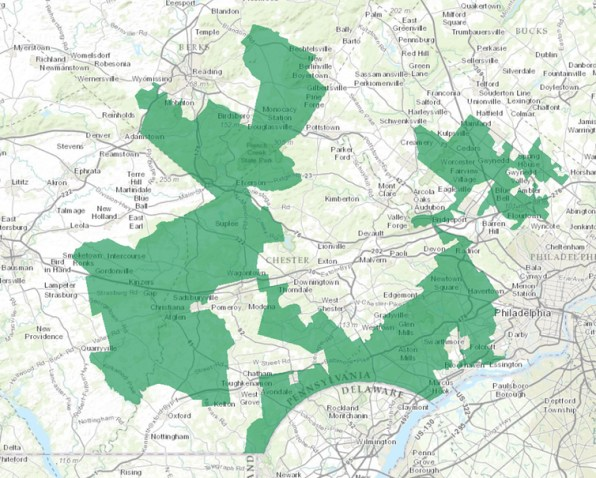 Georgias Congressional Districts Wikipedia Map Georgias Th - Us house district 13 map