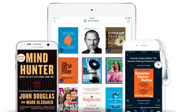 Scribds quest to be the netflix of reading is finally paying off photo courtesy of scribd fandeluxe Choice Image