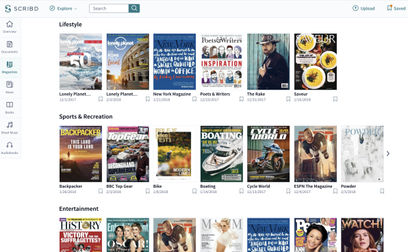 "Scribd\'s Quest To Be ""The Netflix Of Reading"" Is Finally Paying Off"
