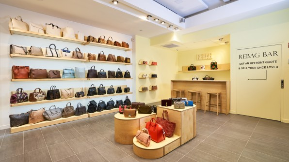 Rebag opens its second nyc store as the luxury resale for High end thrift stores nyc
