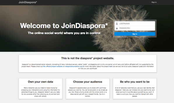 Diaspora dating site
