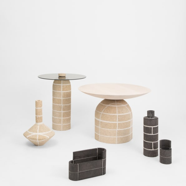 This furniture collection elevates brick from a humble for Furniture xchange new jersey