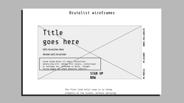 Brutalist Web Design Finally Gets A Takedown