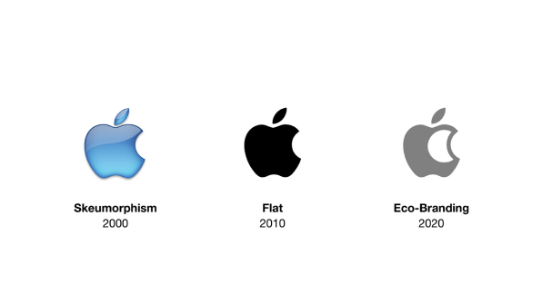 Ecobranding Famous Corporate Logos Redesigned To Use Less Ink - Altered famous logos appear as if theyre effected by the products they sell