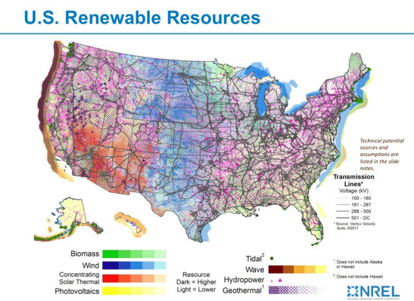 Maps Show The Incredible Potential Of Renewable Energy