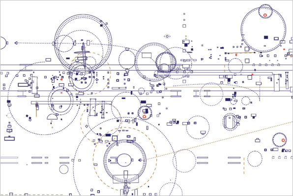 Artist Draws The Blueprints For Music, Space, And