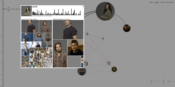 """Infographic: Charting The Entire Story Of """"Lost"""""""
