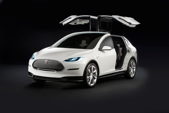 We Re Trying So Hard To Get The Model X Rally Behind Electric Car That S Challenged Stubborn Suits In Detroit Fist Pump A World Less