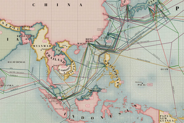 Infographic: The 550,000 Miles Of Undersea Cabling That Powers The Int
