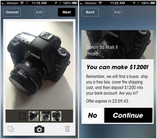 App Makes Selling Stuff Online As Easy As Buying It
