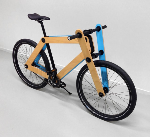 A Flat-Packed Plywood Bike You Put Together Yourself