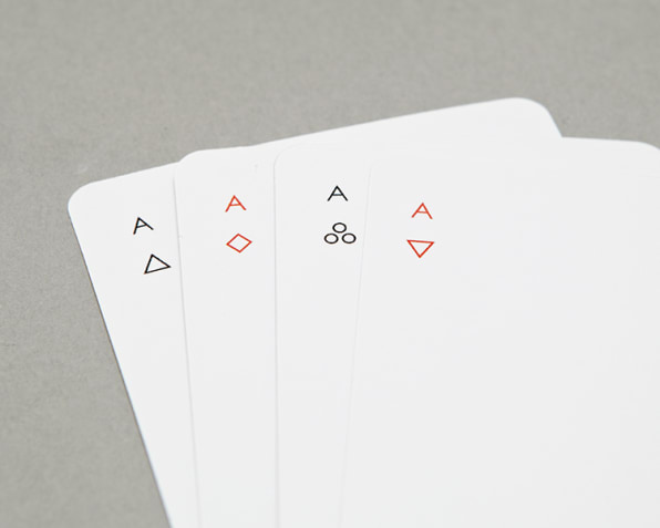 An Ultra-Minimal Deck Of Cards That Keeps Poker Night Clean