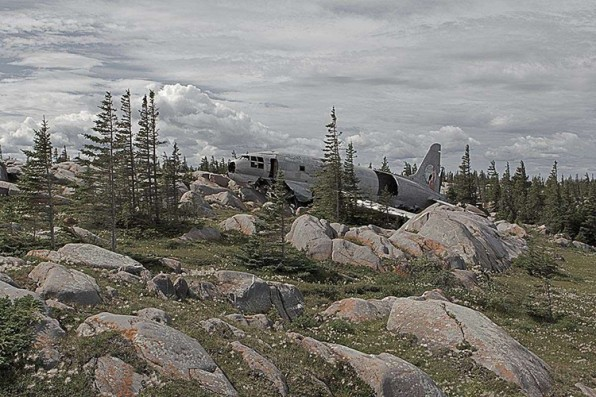 Surreal Photos Of The World's Most Miraculous Plane Crash Sites