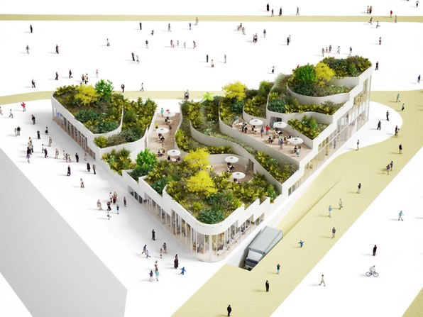 Reinventing The Supermarket As A Terraced Retreat