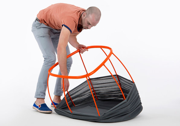 A High-Design Chair That Pops Up Like A Camping Tent