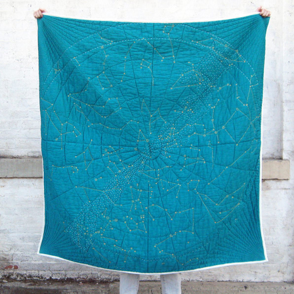 Kickstarting: A Star-Studded Quilt That's A Work Of Art