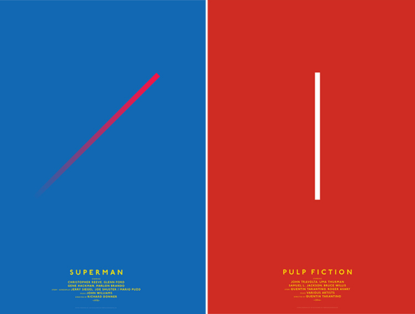 Minimalist Posters That Reduce Your Favorite Movies To Basic Shapes