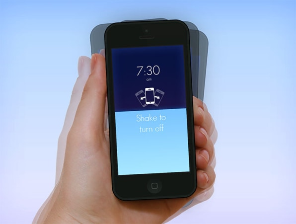 A Fumble-Free Alarm App With A Brilliant Gestural UI