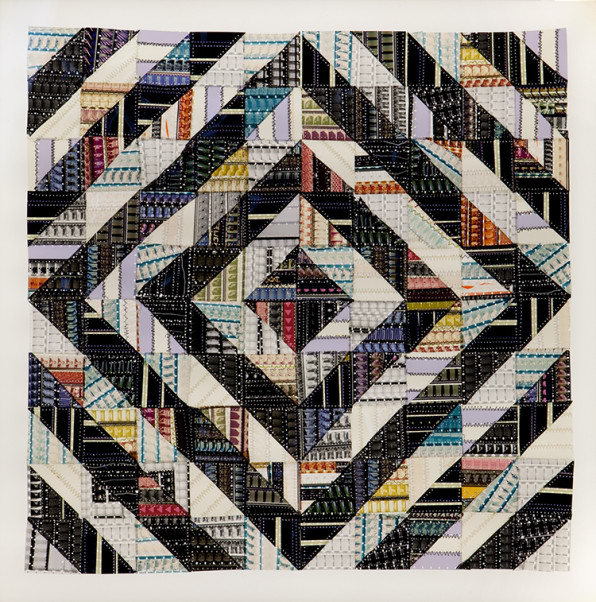 These Traditional-Looking Quilts Are Made Of Film Strips