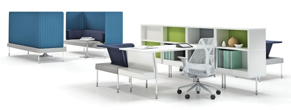 Public Office Landscape Is Fuseproject S Antidote The Modular Furniture System Which Debuted This Week At Neocon Trade Show In Chicago Was Created To