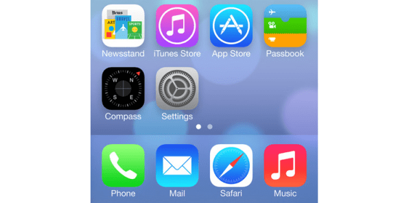 Who Designed iOS 7's Icons? Apple's Marketing Department