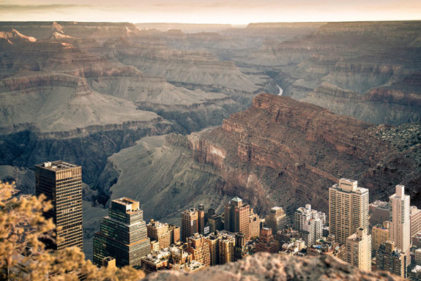 This Is What New York Would Look Like In The Grand Canyon