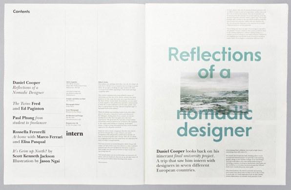 Kickstarting: The Design of Intern Magazine Pays