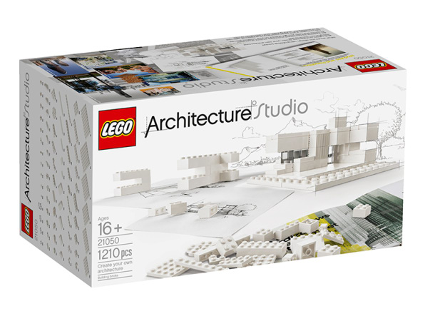 A Monochrome Lego Set To Teach Tomorrow's Architects