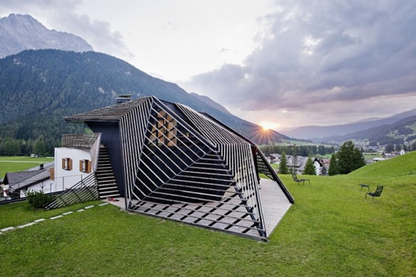 Parametric Architecture Rattles The Italian Alps