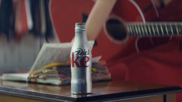 Taylor Swift Shows Her Songwriting Process In New Diet Coke Spot