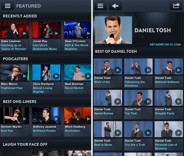 Comedy Central's New Stand-Up App Cracks You Up With Curation